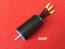RC Model 3660 Brushless Motor 1700W Big Power with Water Cooling Jacket KV2380/2700/3180/3600 for RC Boat Car Spare Parts