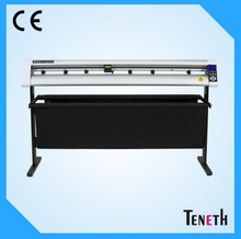 Teneth 1200 Vinyl Sign Cutter With Optical Top Quality Adhesive Color Vinyl Cutter With Contour Cutting 48 Vinyl Cutter Hot Sale(China)