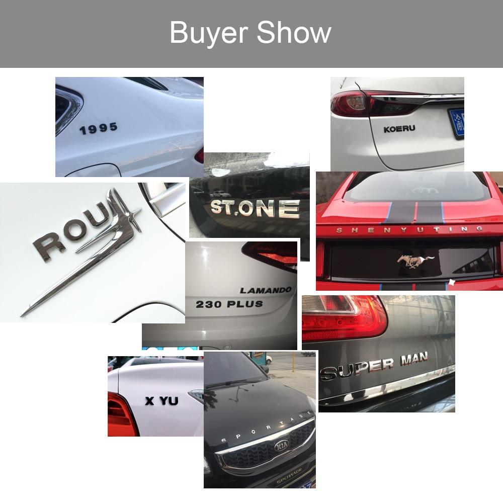 HTB1.X54X1OSBuNjy0Fdq6zDnVXai - 25mm Car Auto Chrome Metal DIY 3D ARC Letters Digital Alphabet Emblem