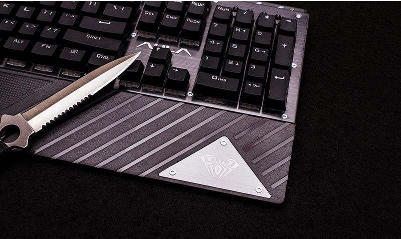 Keyboard RGB Gamer AULA 16