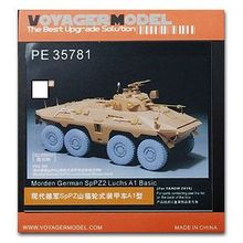 KNL HOBBY Voyager Model PE35781 Modern German SpPZ Bobcat Wheeled Armored Car A1