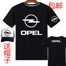 Opel 4S shop printing short-sleeved T-shirt female men's T shirt include baseball cap hats