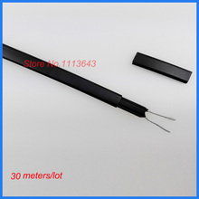 Anti-freeze Frost Protection Heating Cable For Water Pipe 230V 8MM 20W/M 65Temp Self Regulating Heater Wire 30m(China)