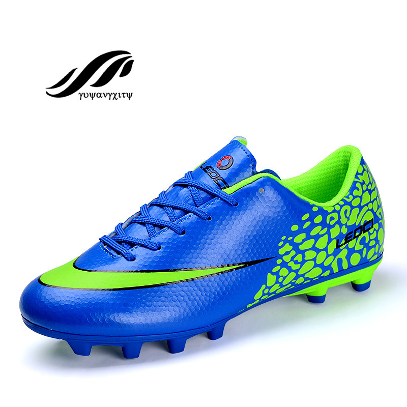 2017 authentic cheap men soccer shoes for  outdoor lawn training  breathable football shoes<br><br>Aliexpress
