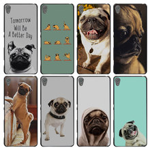 Funny Pug Doing Yoga Style Case Cover for Sony Ericsson Xperia X XZ XA XA1 M4 Aqua E4 E5 C4 C5 Z1 Z2 Z3 Z4 Z5