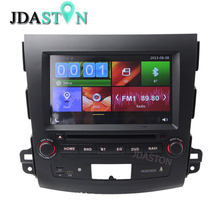 2DIN Car DVD Player For Mitsubishi Outlander 2007 2008 2009 2010 2011 2012 Bluetooth GPS Navigation USD SD WIFI 1080P Radio Map