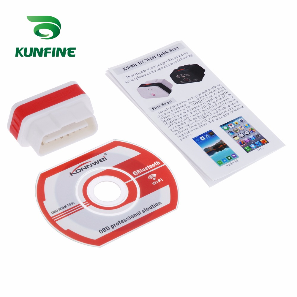 Auto Diagnostic Tool Car engine code Scanner Vehicle fault reader KF-A1184_8221