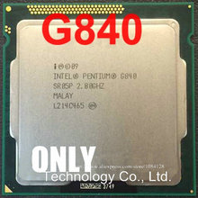 free shipping intel G840 2.8GHz 3M Dual Core desktop processors CPU 840 Socket LGA 1155 pin(China)