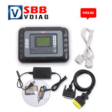 Free shipping SBB Key Programmer V33.02 No Token Auto Key Programmer SBB Immobilizer Programmer Support Multi-brand Cars(China)