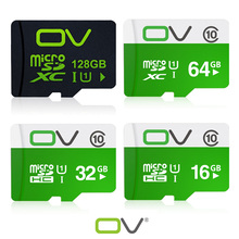OV Real Capacity memory card 128GB 64GB 32GB 16GB UHS-1 class10 micro sd card  8GB Class 6 for mobile phone and smart drivce