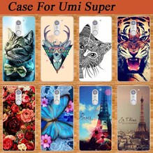 Newest Arrival Popular Case For Umi Super Special Sparkle Blue Butterfly Design Rose Flowers Style cover Top case For UMI Super