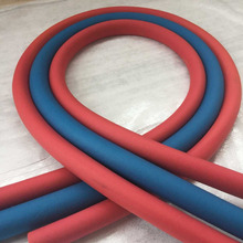 1.8M Rubber and Plastic Insulated Pipe PPR Thermal Insulation Pipe For Water Underfloor Heating System