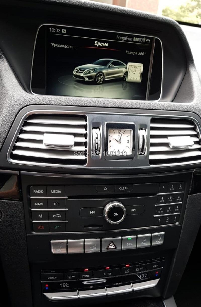 Benz E calss W207 2015,NTG 5.1, 2 door coupe---Russia