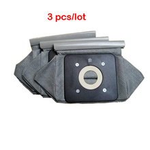 Free shipping 3pcs universal cloth bag reusable vacuum cleaner bags suitable for Philips Electrolux LG Haier Samsung etc