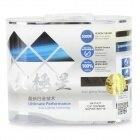 NEW  H4 100W Car Halogen Bulbs White Light 6000K 2400lm - Blue + Silver (12V / 2 PCS)<br><br>Aliexpress