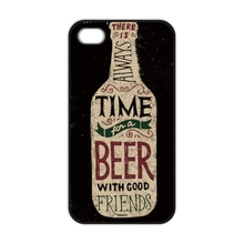 Best Wine Beer Cover Case for iPhone 4 4S 5 5S 5C SE 6 6S 7 Plus Samsung S3 S4 S5 Mini S6 S7 Edge Plus A3 A5 A7