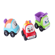 3PCS/Lot Hot Sale Push and Go Friction Powered Car Toys Mini Truck Sport Car Toys Multi Color Kids Toys For Children