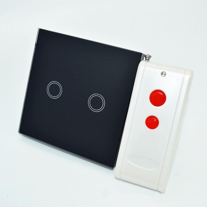 XIND ELE 110v-240V EU wireless wall touch light switch for smart home #XDTH02B+LR-2#<br><br>Aliexpress