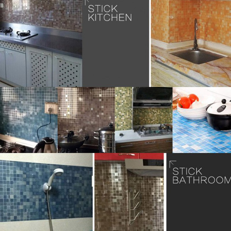 HTB1.Xb0PXXXXXXNXVXXq6xXFXXX2 - Waterproof Mosaic Aluminum Foil Self-adhesive Anti Oil Kitchen Wallpaper