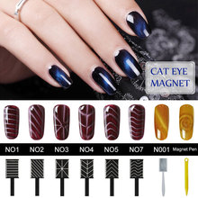 Belen Nail Art Stickers Cat Eye Gel Polish Magnet Sticks for Manicure UV Nail Gel Polish Nail Magnet Sticker For Magnetic Polish