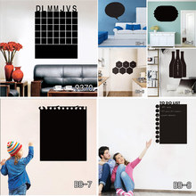 Calendar Chalkboard Wall Stickers environmental Vinyl Removable Blackboard decoration office wall stickers Free shipping