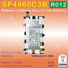 [ SP4960C3B ] 3.7V 4000mAh Li - Polymer lithium ion Mobile / TABLET PC battery for SAM-SUNG Galaxy TAB P6200 P3100 P3110