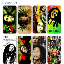 Lavaza Bob Marleys Hard Transparent Cover Case for iPhone X 10 8 7 6 6S Plus 5 5S SE 5C 4 4S