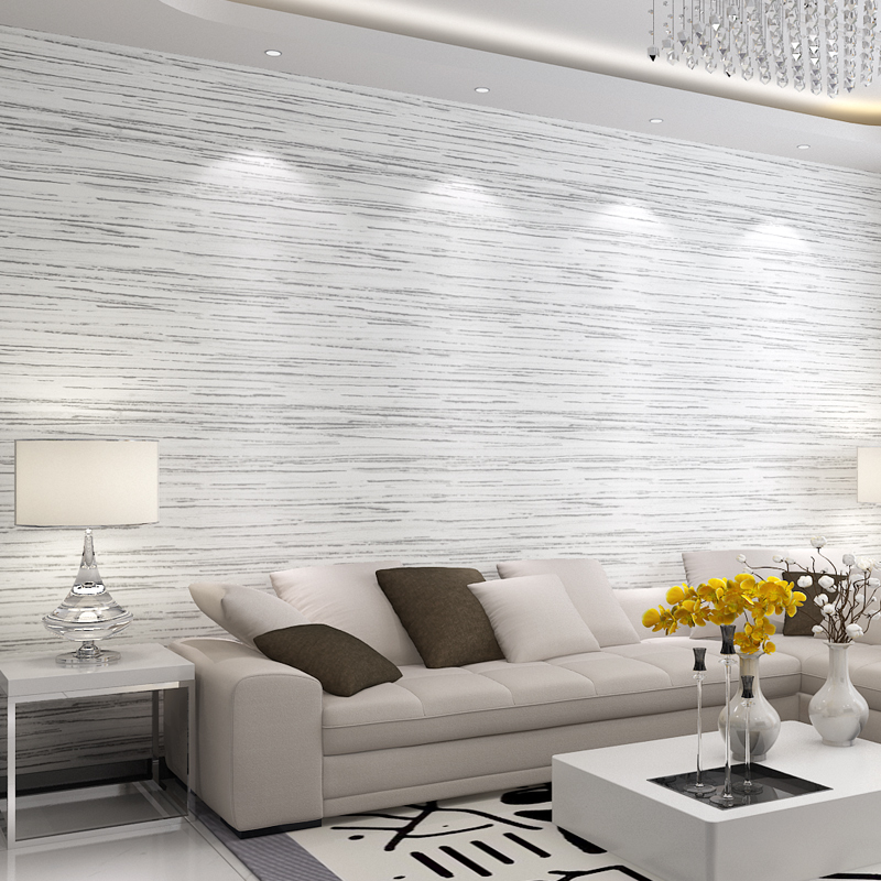 Modern Simple 3D Cross Stripe Non-Woven Wallpaper Living Room TV Sofa Bedroom Background Wall Covering Home Decor Wall Paper 3 D<br>