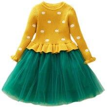 Kid Long Sleeve Baby Girls Dress Princess Dress Costume Kids Dresses For  Girl Childern Christmas Clothing e1c37630e90e