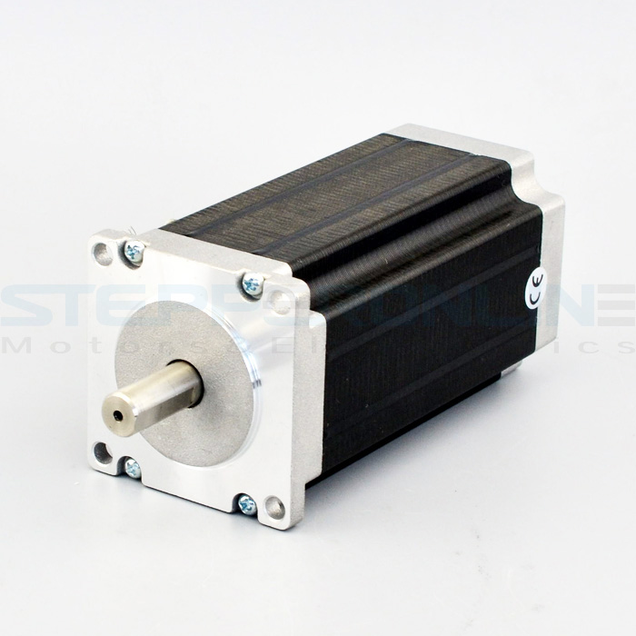 Nema 23 Stepper Motor 3Nm/425oz.in 4.2A 4-wires 10mm Shaft CNC Mill Lathe Plasma Router<br>