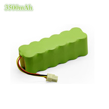 1x Battery Pack 14.4V 3500mAh NI-MH battery replacement for Samsung Navibot VCR8845 SR8840 SR8895 VC-RL84V Robot Vacuum Cleaner(China)