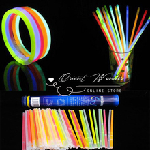 Glow Stick LED Light Stick Fluorescence Flash Stick Multicolor Lightstick Rave Halloween Party Concert Christmas Decoration(China)