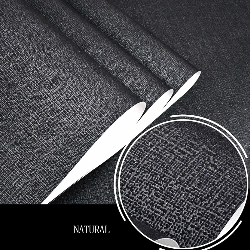 10M Brief Solid Color Plain Grey Coffee Black Beige Wallpaper Home Decor Wall Paper Rolls For Hotel Office Living Room<br><br>Aliexpress