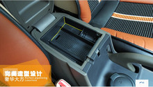 Bigger! For Hyundai Tucson ix35 2011 - 2014 Plastic Central Storage Pallet Armrest Container Box Holder(China)