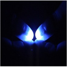 2Pcs Party Magic Light Up Thumbs Fingers Trick Appearing Light Close Up(China)