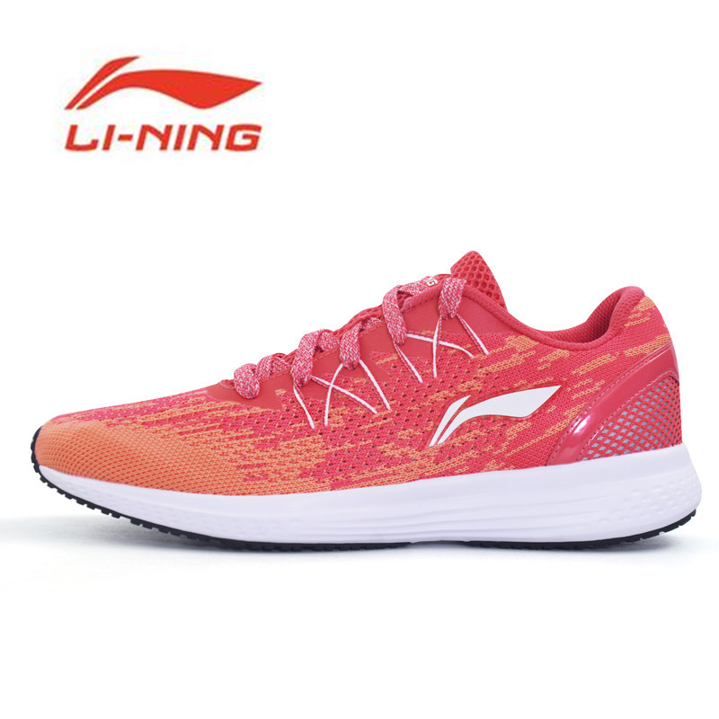 Li-Ning Original Shoes Womens 2017 Speed Star Cushion Running Shoes Breathable Sneakers Textile Light Sports Shoes ARHM082<br>