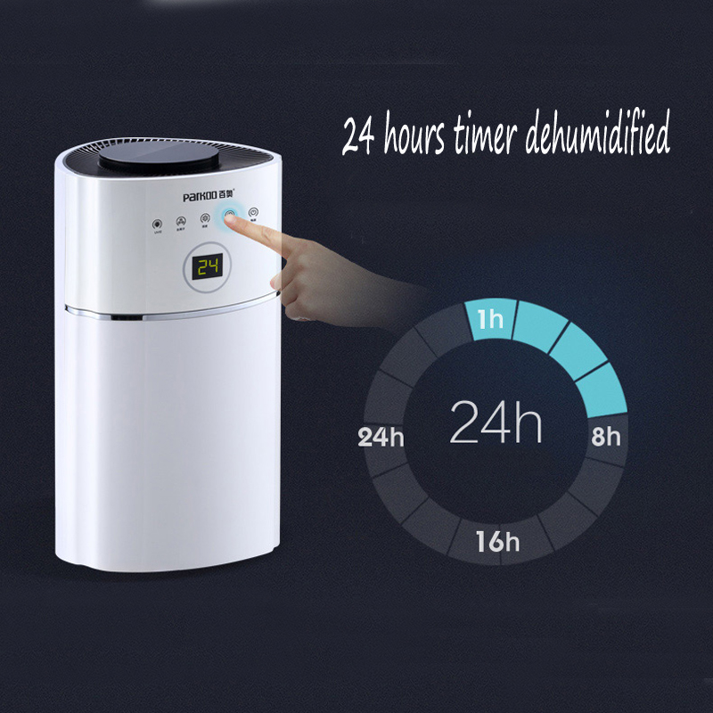 90-260v 2.4L Intelligent LED Dehumidifier Timing UV light purify air dryer machine moisture absorb Smart Home Appliances (1)