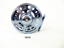 3BB titanium alloy fly fishing reel FD70 aluminium alloy wheel(China)