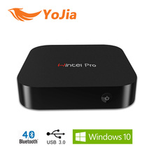 [Genuine] 5pcs Wintel W8 Pro Mini PC Box Intel Z8300 Windows10 OS 2GB/32GB WintelPro 2.4GWifi BT4.0 RJ45 100M LAN W8 Pro TV Box