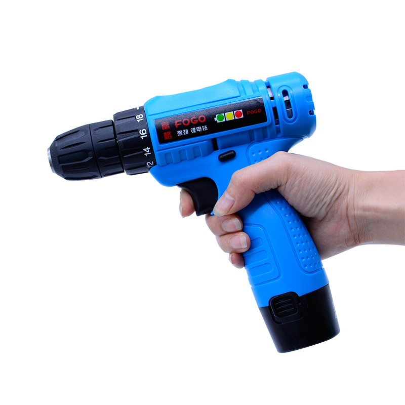 12V Electric Drill Power Tools Electric Screwdriver Lithium Battery Cordless Drill Mini Drill Hand Tools with Bubble level<br>