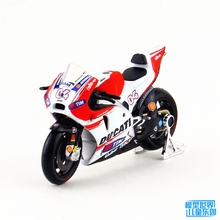 Brand New MAISTO 1/18 Scale Motorbike Model Toys Ducati Desmosedici #4 Racing Diecast Metal Motorcycle Model Toy For Gift/Kids(China)