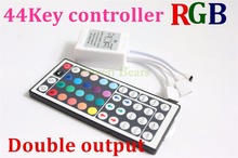 New 44 Key 2Ax3 Double Outputs IR Remote Controller RGB 5050 LED Light Strip 3528 #6451