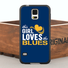 The Girl Loves Blues TPU Case for iPhone 5 5S  6/6s/7 Plus and Case for Samsung Galaxy Note2 3 4 5 7 S4 S5 S6 Edge Plus S7 Edge