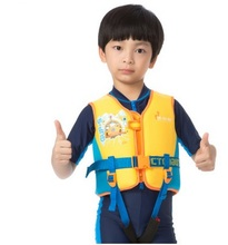 Professional Safety Life Jacket PFD Foam Float Vest For Kids Water Sports Surfing Rafting Boating Fishing Sailing Life Jackets(China)