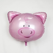 TSZWJ Free Shipping pig balloon toys for children birthday party decoration balloon wholesale(China)