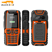 2300mah Big Battery IP67 Waterproof Senior Phone for Old Man EXUN X8 Mp3 Playback with SOS One Key For Help Mobile Phone