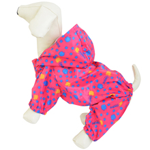 Dog clothes in a small dog  legs raincoat waterproof raincoat Tactic