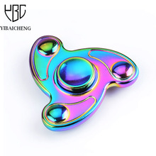 Buy Tri-Spinner Fidget Novelty Finger Spinners Toy Metal EDC Hand Spinner Autism ADHD Zinc Alloy Anti-stress Fun Toys Adults for $9.68 in AliExpress store