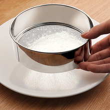 EZLIFE Stainless Steel Ultra Fine Mesh Flour Sifting Sifter Sieve Strainer Cake Baking Kitchen XN376