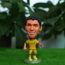 "Soccer 8# OSCAR (C-Yellow-2015) 2.5"" Dolls Figure Football Player Figurine"